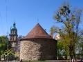 BASZTA PROCHOWA - jedyna ocalała z 23 baszt chroniących centrum miasta wybudowana w latach 1554-1556.