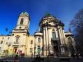Kościół Bożego Ciała i klasztor Dominikanów we Lwowie z najwspanialszymi wnętrzami barokowymi.