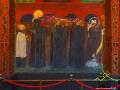 Pogrzeb św. Odilona, który ustanowił święto Wszystkich Świętych i Dzień Zaduszny.