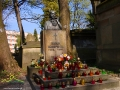 Pomnik MARII KONOPNICKIEJ zmarłej w 1910r. we Lwowie i pochowanej na Cmentarzu Łyczakowskim.