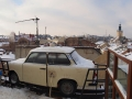 Panorama z dachu restauracji DOM LEGEND na stary Lwów.