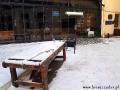 Stół do tortur przed restauracją MIĘSO I SPRAWIEDLIWOŚĆ