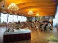 Wnętrze sali balowej, w której odbyły się uroczystości Województwa Podkarpackiego z wręczeniem nagród na konkursie.