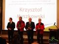 Za Krzysztofa Myszkowskiego - kompozytora, wokalistę, gitarzystę, wokalistę SDM - nagrodę odebrał Piotr Rogala.