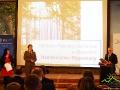 Kolejna nagroda została wręczona przedstawicielce Nadleśnictwa Stuposiany za Centrum Promocji Leśnictwa w Mucznem.