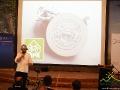 Furrorę wzbudził kolejny prezenter, który przyjechał na rowerze i opowiadał o turystyce rowerowej.