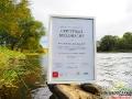 Zdjęcie certyfikatu wykonane nad wodą, ale nie rzeki San, lecz Osława - obok BP Bieszczader ;-)