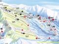 Ski Map POŁUDNIOWE STOKI Chopoka 2024m