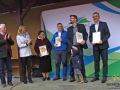 Nagrodę za wycieczkę Drezynami po Bieszczadach! odebrała Mirosława Janik, 10.2015