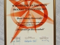 Nagroda w konkursie na Najlepszy Produkt Turystyczny Podkarpacia za wycieczkę DREZYNAMI PO BIESZCZADACH, 10.2015