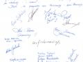 Podziękowanie za wycieczkę i usługi przewodnickie, Urząd Skarbowy z Kartuz 10.2005