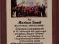 Podziękowanie za wycieczkę na KRYM, Straż Pożarna Łódź, październik 2013r.
