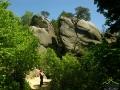 Rezerwat PRZĄDKI obok którego przejeżdżamy (w pobliżu Zamku Kamieniec).