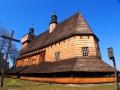 Perła Podkarpacia KOŚCIÓŁ W HACZOWIE jako jeden z dwóch pierwszych wpisany na UNESCO.