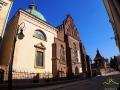Kościół Franciszkanów w Krośnie ze słynną kaplicą rodu Oświęcimów.