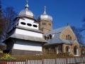 CERKIEW greckokatolicka w Borynii z 1912r.