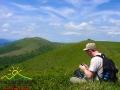 Oprócz wędrówki warto od czasu do czasu po prostu usiąść i odpocząć w niepowtarzalnej scenerii...