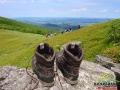 Najcudowniejsze co może być oprócz podziwiania widoków ze szczytu to ściągnąć buty...