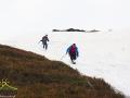 Nachylenie zboczy w stronę Biłasowicy jest tak duże, że mając odrobinę śniegu można zjechać na butach jak na nartach ;-)