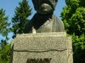 Pomnik Ignacego Łukasiewicza w Bóbrce koło Krosna.