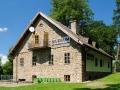 Dawny spichlerz, a dziś Muzeum Marii Konopnickiej w Żarnowcu koło Krosna.