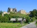 Zamek Kamieniec w Odrzykoniu koło Krosna.