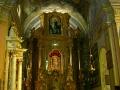 Wnętrze kościoła w Kalwarii Pacławskiej.