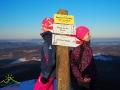 Madzia i Kasia na szlaku czerwonym ;-)