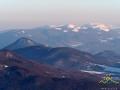 Pliszka, PIKUJ 1406m - najwyższy szczyt Bieszczad po stronie Ukraińskiej - i Borżawa.
