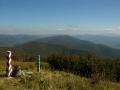 wycieczki BIESZCZADY - pasmem granicznym na Kremenaros 1221m - granice Polski, Słowacji i Ukrainy!