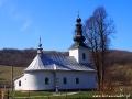 Jedna z kilkudziesięciu cerkwi widzianych z autokaru podczas wycieczki na Słowację.
