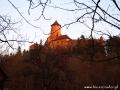 Zamek w Starej Lubowli jest widziany z Nestville Park.