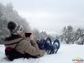 Zdjęcie z rakietami śnieżnymi ;-)