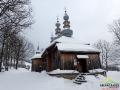 Przy cerkwi w Turzańsku jest najwyższa w polskiej części Karpat dzwonnica słupowa!