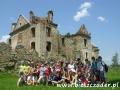 Ruiny klasztoru karmelitów bosych w ZAGÓRZ - grupa wycieczkowaU