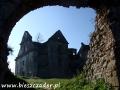 Ruiny klasztoru karmelitów bosych w ZAGÓRZU - brama wejściowa