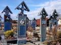 Wycieczki po Rumunii - malowane cmentarz w Sapanta