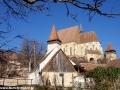 Wycieczki po Rumunii - klasztor i kościół w Biertan
