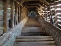 Zadaszone schody w SIBIU
