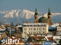 Widok na Karpaty z Sibiu - wycieczki po Rumunii