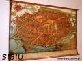 Plan starego miasta SIBIU