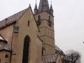 Dawny kościół farny w Sibiu - dziś katedra ewangelicka