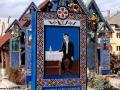 Wycieczka do Rumunii - wesoły cmentarz w Sapanta