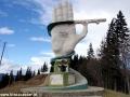 Wycieczka do Rumunii - pomnik ku czci budowniczych drogi