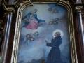 Jan Paweł II i BIESZCZADY - wnętrze pustelni św. Jana z Dukli