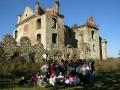 Jan Paweł II i BIESZCZADY - szlak papieski na ruinach klasztornych w Zagórzu