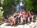 SŁOWACJA wycieczki - Słowacki Raj - jeden z wielu wodospadów