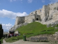 SŁOWACJA wycieczki - ruiny zamku Spisski Hrad