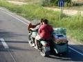 Zakupy zrobione więc czas do domu - UKRAINA