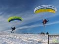 Narty i paralotnie w Bieszczadach, czyli SnowGliding